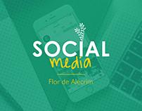 Social Media - Flor de Alecrim