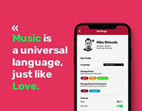 Daily UI/UX - Musician Dating app
