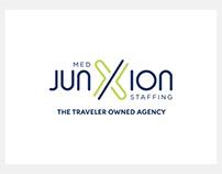 Junxion Med Staffing Branding