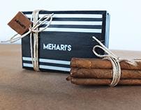Mehari's Cigarillos Packaging Design