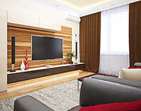 DESIGN PROJECT OF APARTMENTS IN MOSCOW