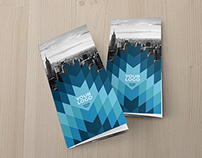 Cool Blue Trifold