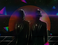 Daft punk l Photomanipulation
