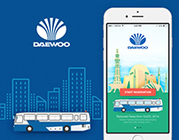 DAEWOO buses application