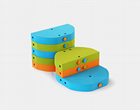 Dodu: children's furniture playset
