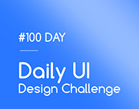 Daily UI Design Challenge - #100 DAY