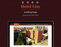 Hotel Liss web page