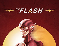 The Flash - Cartoon effect