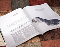 Skiing Editorial Design