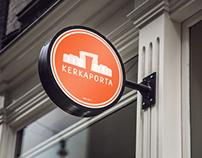Branding and graphic design: Kerkaporta