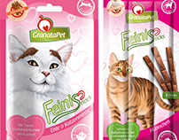 GranataPet // cat food campaign and packages