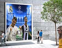 RealMadrid VS Juventus poster