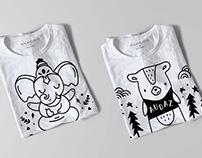 Ilustraciones / Productos y Estampas