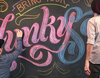 Bring Your funky Self Chalkbaord
