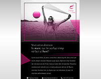 Modelling agency | Brochure design