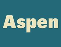 Aspen Typeface