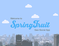 Spring Fruit Geo Social Network