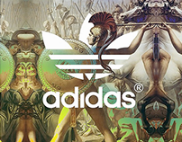 adidas : all in art . Jeremy Scott