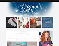The Yasmin Bueno - Blogger Layout