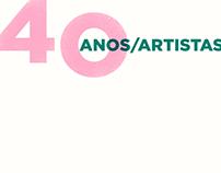 40 ANOS, 40 ARTISTAS