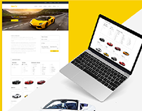 Hertz Car Rental Redesign Concept