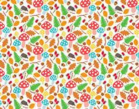 Autumn Woodland Pattern