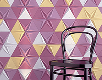 Triangle Concret Tiles