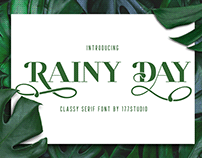 RAINY DAY Serif Font