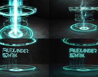 Hi-Tech logo animation Alexander Spark