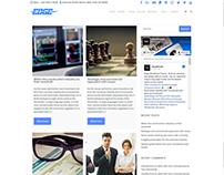 Blog Right Sidebar - Edge WordPress Theme