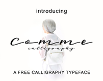 Comme - Free Font