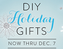 DIY Holiday Gifts Fall 2015