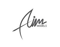 Aim Logo Design concept