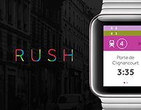 Rush - Apple watch app