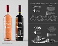 Chateau Buffalo Wine Bottle Designs