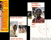 Speak Up Africa — Editorial design