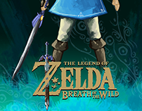 Legend Of Zelda Breath of The Wild Posters
