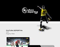 Cultura deportiva | Página web