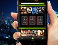 KissAnime App Design