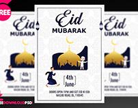 Eid Mubarak Flyer + Social Media Post