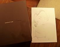 BLAGOVESTA BAKARDJIEVA Live-Sketching Louis Vuitton