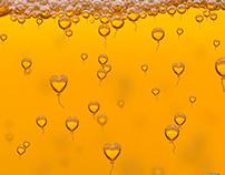 Print advertising beer