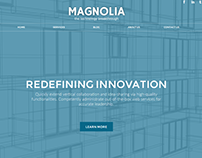 Magnolia Corporate Website Concept