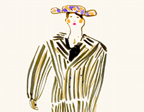 Charles Jeffrey, Palomo Spain- illustrated