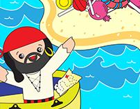 Boukili Children's Book App Illustrations