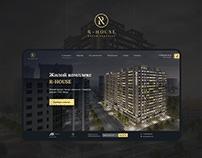 R- House - premium apartments. UI/UX/Web design
