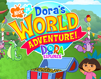 Dora's World Adventure! ©Nickjunior