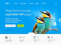 Tfingi - Responsive Multipurpose WordPress Theme