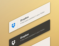 Growl Notification Style PSD