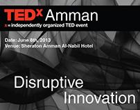 TEDx Amman Poster